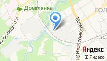 Автосервис на Повенецкой на карте