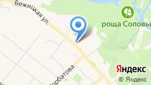 Ассоциация молодых предпринимателей Брянской области на карте