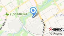 NAN на карте