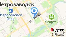 LAF24 на карте