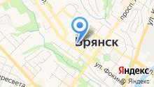 Главное бюро медико-социальной экспертизы по Брянской области на карте