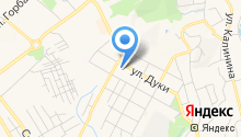 Ателье на ул. Дуки на карте