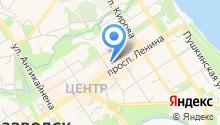 Defreeze на карте