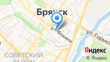 Аппарат уполномоченных по правам человека в Брянской области на карте