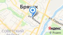 Аппарат уполномоченных в Брянской области на карте