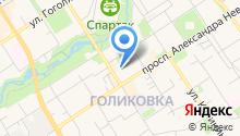 Алёкка на карте