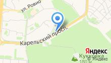 АЗС Экотек на карте