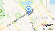 Администрация Прионежского муниципального района Республики Карелия на карте