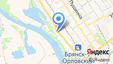 Автоцентр на Речной на карте