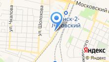 Автомагазин на Белорусской на карте
