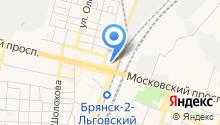 Автоточка на карте