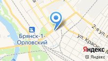 Ателье по ремонту и пошиву одежды на ул. Пушкина на карте