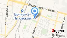 Адвокатская консультация Фокинского района на карте