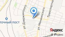 Брянск-Лада на карте