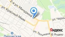 АвтоVпорт на карте