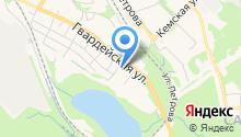 Aqua line на карте