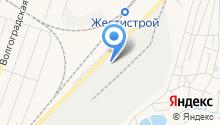 Новомосковская посуда на карте