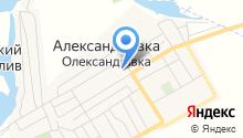 Олександрівська середня загальноосвітня школа на карте