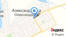 Александровский централ на карте