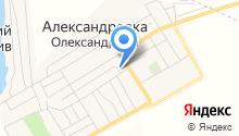 Олександрівська амбулаторія загальної практики сімейної медицини на карте