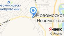 АЗС УКРНАФТА на карте