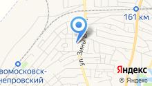 Новомосковська міська державна лікарня ветмедицини на карте