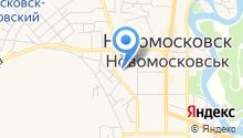 Новомосковський технікум на карте