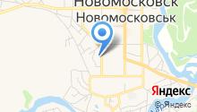 Новомосковсько-Магдалинівський об`єднаний міський військовий комісаріат на карте