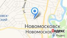 Новомосковська міська стоматологічна поліклініка на карте
