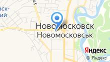 Новомосковская группа экспертов на карте
