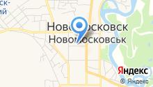 Богдана на карте