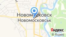 Барышня и хулиган на карте