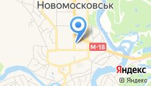 Новомосковська міська рада на карте