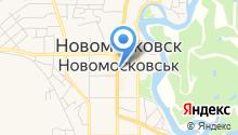 Мерлин на карте
