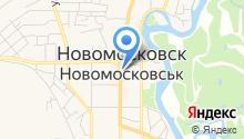 Банкомат, Банк Кредит Днепр на карте