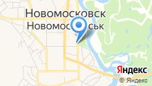Магазин продуктов на Комсомольской на карте