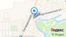 Сак на карте