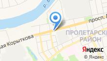 Главное бюро медико-социальной экспертизы по Тверской области на карте