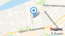 Платежный терминал, Бинбанк, ПАО, филиал в г. Твери на карте