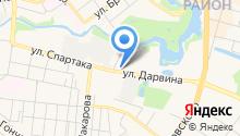 A SatVision на карте