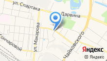 1-я Суворова на карте