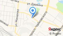 Stock на карте