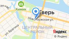 Яффо на карте