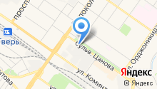 RedFox на карте