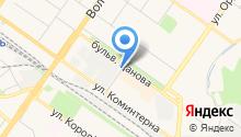 Ярославский бройлер на карте