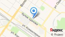CITY DANCE - Танцевальная фитнес студия на карте