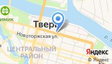 Военная прокуратура Тверского гарнизона на карте