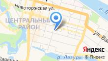 Управление государственного автодорожного надзора по Тверской области Федеральной службы по надзору в сфере транспорта на карте