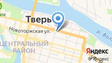 Аппарат Правительства Тверской области на карте
