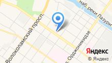 Тверской технологический колледж на карте